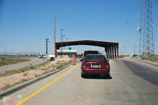 1717 7 dia Viagem para Arizona - interstate 8 - Border Patrol
