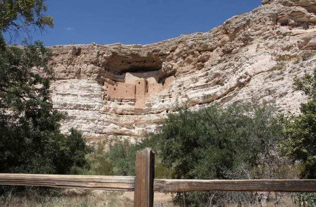 1821 7 dia Camp Verde - Montezuma Castle National Monument