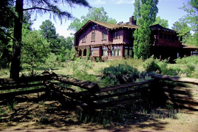 1900 8 dia Flagstaff Riordan Mansion Gate