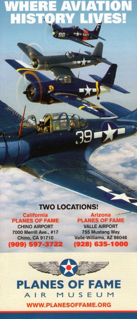 2050 8 dia Arizona Plane of Frame Air Museum