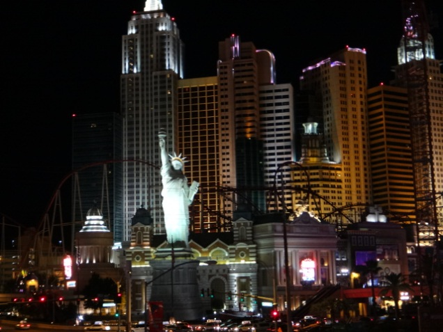 2356 8 dia Nevada Las Vegas Strip - New York
