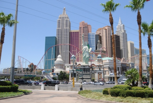 2559 9 dia Nevada Las Vegas Strip - New York Hotel Casino