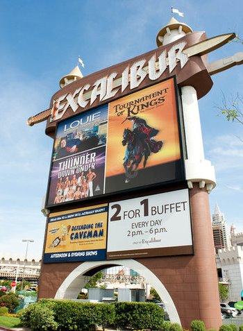 2566 9 dia Nevada Las Vegas Strip - Excalibur Hotel Casino