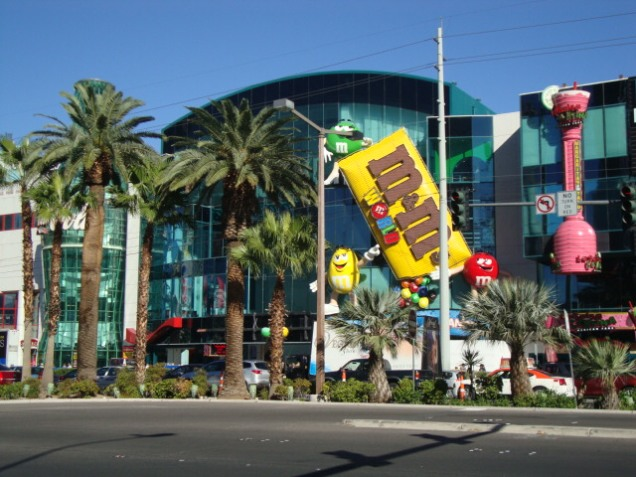 2603 9 dia Nevada Las Vegas Strip - M&M Store