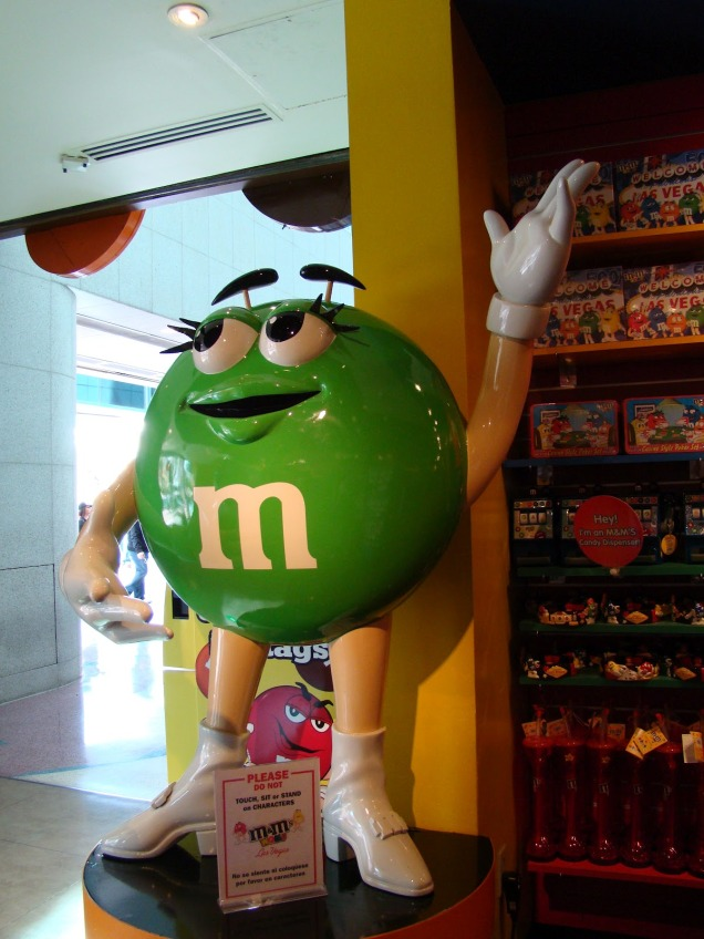 2608 9 dia Nevada Las Vegas Strip - M&M Store