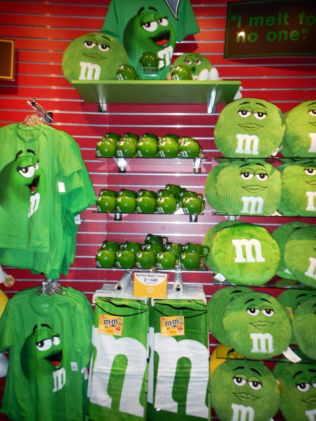 2624c 9 dia Nevada Las Vegas Strip - M&M Store
