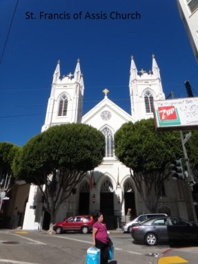 3274 11 dia San Francisco Little Italy St Francis of AssisI church