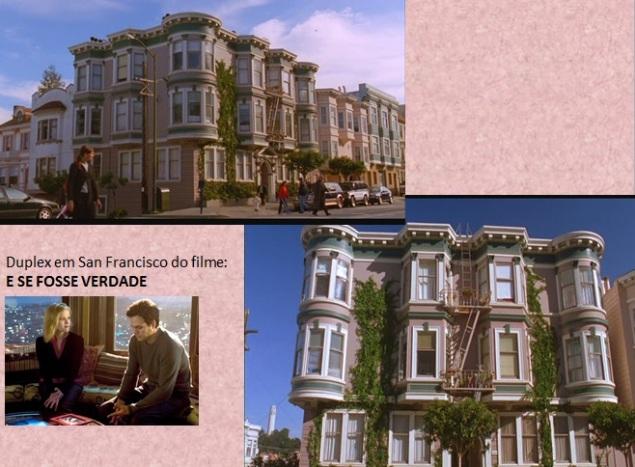 3333 11 dia San Francisco Duplex do filme E se Fosse Verdade