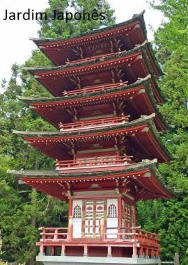 3355 11 dia San Francisco Gonden Gate Park - Jardim Japonês