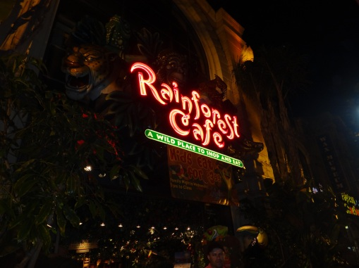 3431 11 dia San Francisco - Rainforest Café