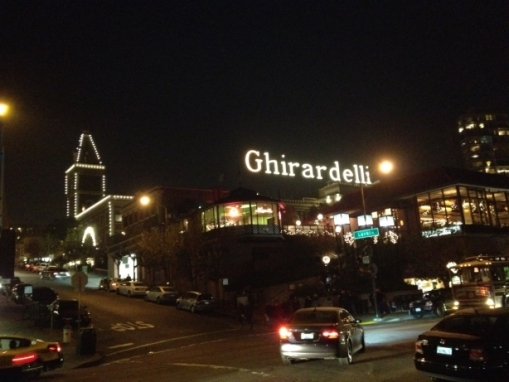 3450 11 dia San Francisco - Ghirardelli Chocolates