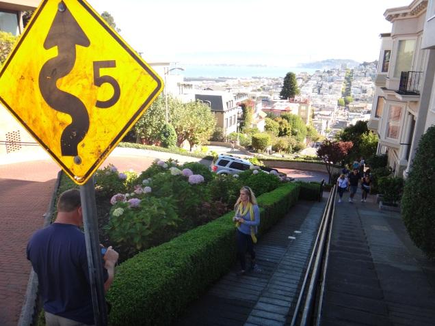 3566 12 dia San Francisco - Lombard Street