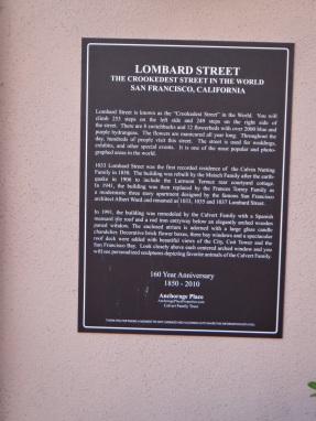 3575 12 dia San Francisco - Lombard Street