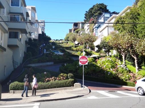 3578 12 dia San Francisco - Lombard Street