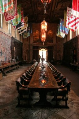 3855 14 dia - San Simeon Hearst Castle sala de jantar