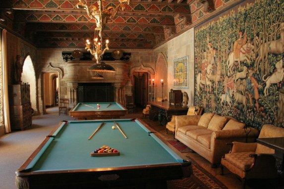 3857 14 dia - San Simeon Hearst Castle sala de jogos