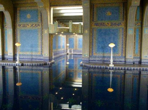 3870 14 dia - San Simeon Hearst Castle Roman Pool