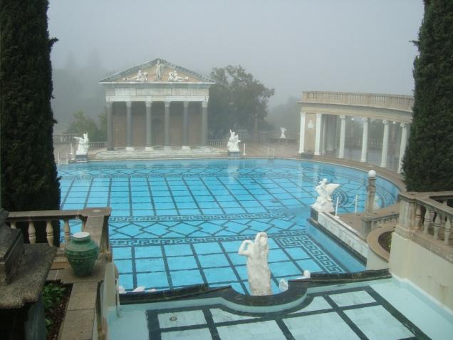 3873 14 dia - San Simeon Hearst Castle Neptume Pool