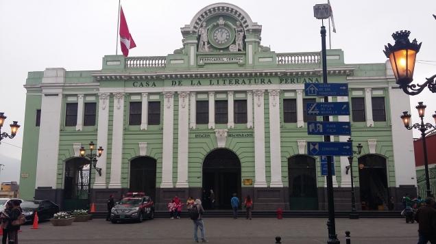 254 2º dia Casa de La Literatura Peruana