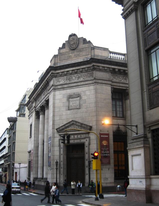 295 2º dia Museo del Banco Central de Reserva de Peru